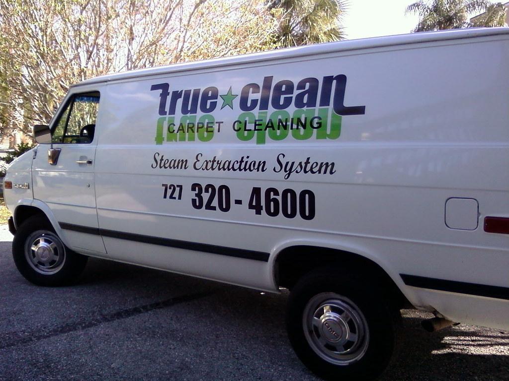 The True Clean truck mount van