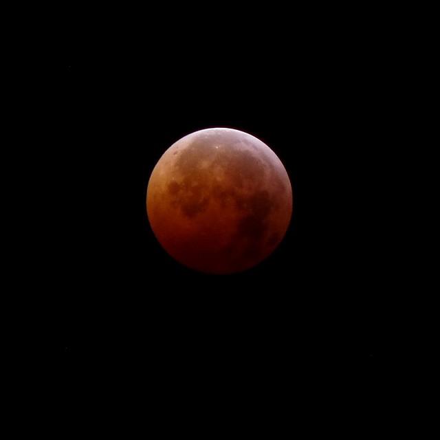 Lunar Eclipse, 3:54 AM EST