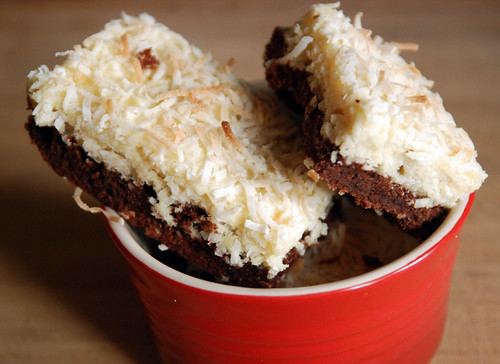 Black Bottom Coconut Bars