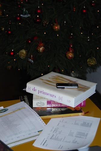 kerst de voorbereidingen