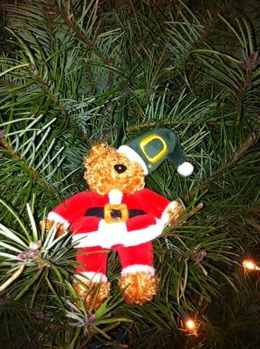 Oregon Ducks Christmas Ornament