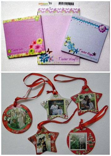 artscow memopad, christmas ornaments, personalized gifts