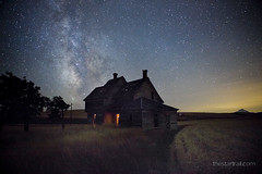 Coming Home (Ben Canales) Tags: house abandoned night oregon dark stars star scary twilight ben ghost central creepy galaxy starry cosmos milkyway dufur canales Astrometrydotnet:status=failed thestartrail thestartrailcom
