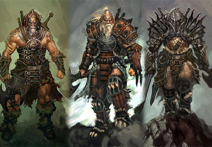 Diablo III Class - The Barbarian
