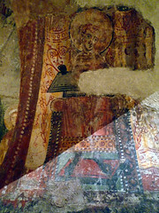 Circle of the Master of Pedret, detail with arch figure