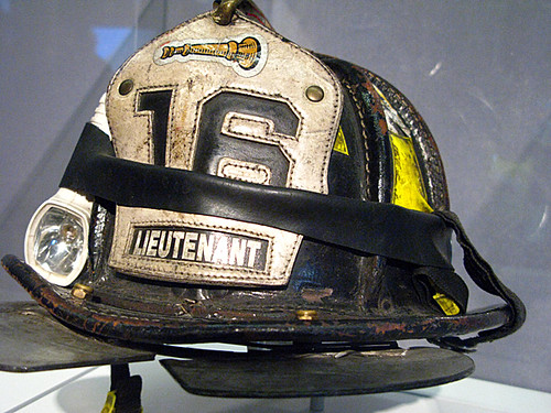 Helmet Mickey Kross of Engine 16, FDNY