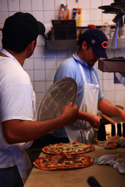 Homemade Chicago Pizza at Candlelite in Rogers Park by Candlelite Chicago
