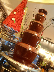 Chocolate fountain, Thailand