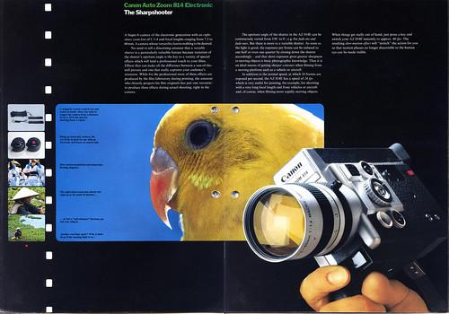 Canon Autozoom 814 Electronic - Advertisement