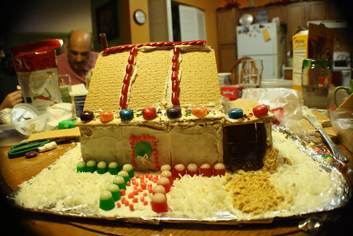 The gingerbread competition on 2010