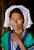Asia - Myanmar / Burma - Chinwoman The Chin are