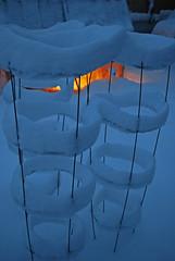Snow Rings (junglejims photos) Tags: snow night spokane nw wa inland