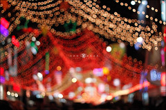 Quorra! (abhiomkar) Tags: street india colors night lights colorful bokeh bangalore decoration commercial karnataka cololr quorra