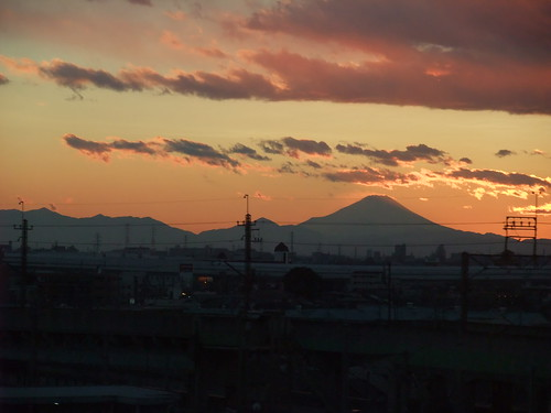 Mt. FUJI from 新幹線