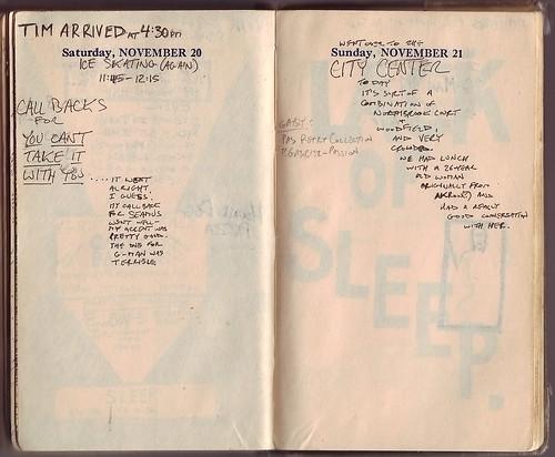 1954: November 20-21