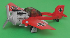 Fokker E.XIII Monospaceplane (pasukaru76) Tags: fighter lego space ww2 moc starfighter monoplane canon100mm