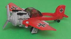 Fokker E.XIII Monospaceplane (pasukaru76) Tags: fighter lego space ww2 moc starfighter monoplane canon100mm