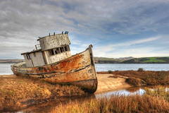 The Point Reyes #13 (andertho) Tags: abandoned delete10 delete9 delete5 boat ship nps delete6 delete7 save3 delete8 delete3 save7 delete delete4 save save2 save4 age pointreyes save5 save6 hdr inverness sfist pointreyesnationalseashore thepointreyes