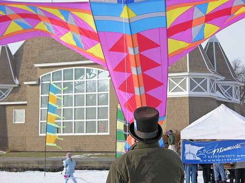 Winter Kite Festival 2006 MN kite society