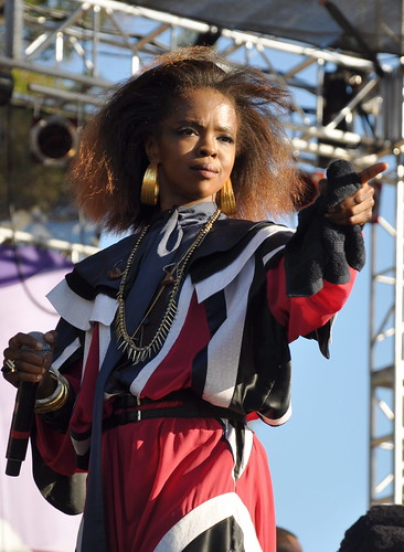 Lauryn Hill at the Harmony Festival