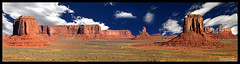 Monument Valley (Shashank's Fine Art Gallery) Tags: arizona panorama monument poster landscape utah natural postcard indian reserve az location exotic valley navajo iconic