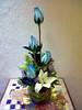 Detalles 1. (D'Francia Floreria) Tags: floral chico rosas lilis azules arreglo floreria dfrancia