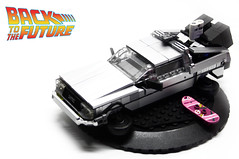 "BTTF DELOREAN (""Orion Pax"") Tags: lego delorean"