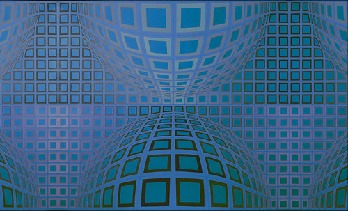 "Victor Vasarely • <a style=""font-size:0.8em;"" href=""http://www.flickr.com/photos/30735181@N00/5324127738/"" target=""_blank"">View on Flickr</a>"
