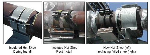 Failed Pipe Shoes