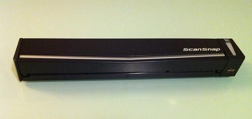 Fujitsu scansnap s1100 portable a4 simplex colour scanner black.