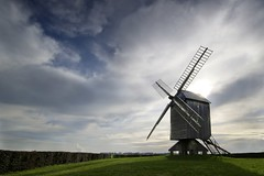 Le rescapé (photosenvrac) Tags: landscape moulin vent photo ciel paysage 41 beauce loiretcher
