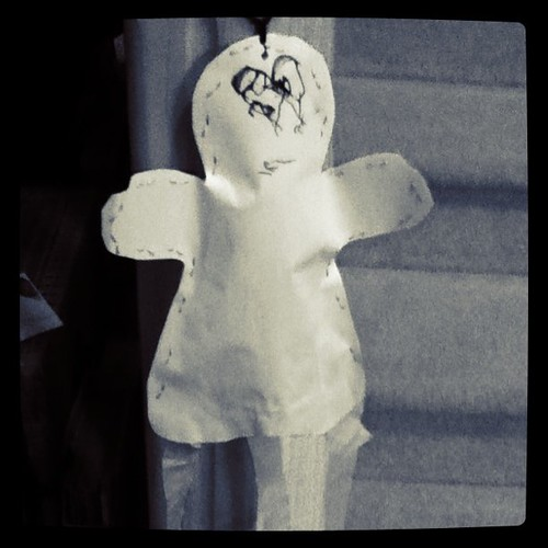 So the Halloween ghost is still here after New Year's.  Might as well leave it up until Halloween.