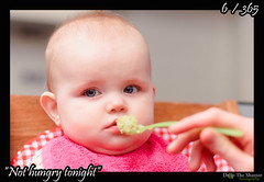 006 - 365 - Not hungry tonight (ronny..) Tags: pink red food baby green groen spoon hunger 365 rood eten ilse roze nothungry lepel project365 threesixtyfive eetlust project36612011 2011yip 3652011 2011inphotos threehunderdsixtyfive geenhonger droptheshutter