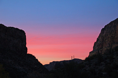 lebarge canyon sundown