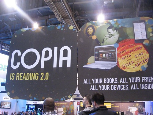 Copia was at CES in full force