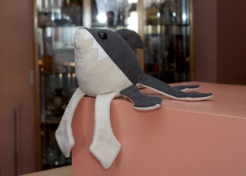 Sharktopus Plush - Lounging