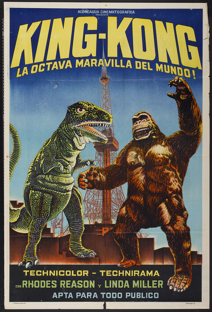 King Kong Escapes (Toho, R-1976) Argentinean