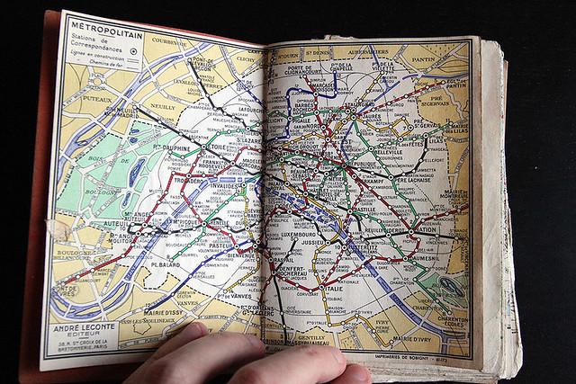 Le plan de métro d'alors