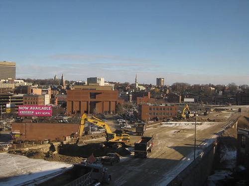 195 demolition progress