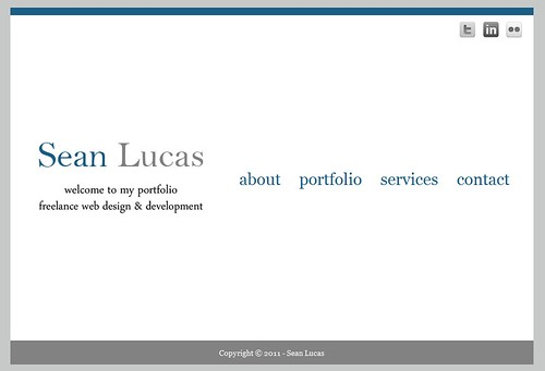 Portfolio of Sean Lucas