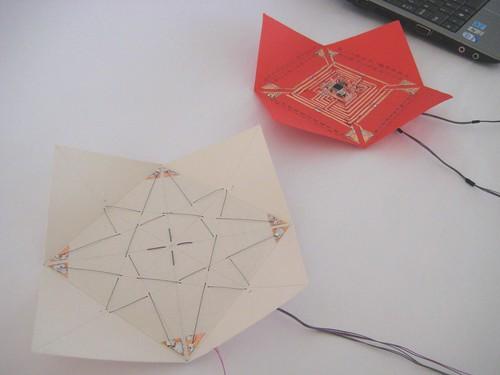 High Low Tech Self Folding Origami Paper