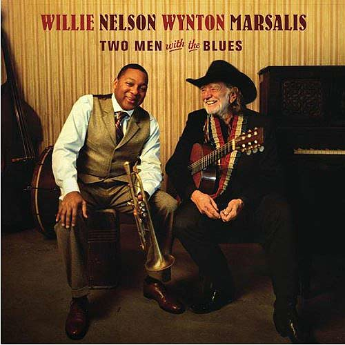 Willie Nelson e Wynton Marsalis - two men with the blues