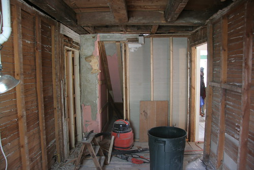 ripping out plaster and lath