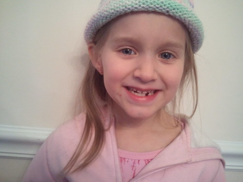 Emma lost her third tooth!!
