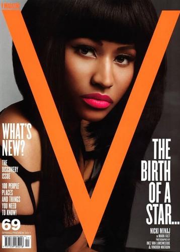 nicki minaj v magazine cover