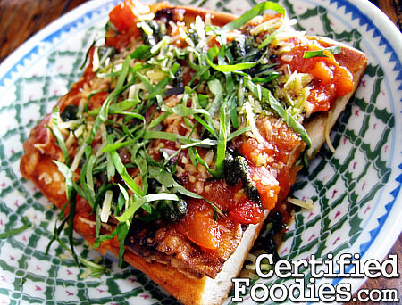 Oh My Gulay, Baguio - Talong Parmigiana - CertifiedFoodies.com