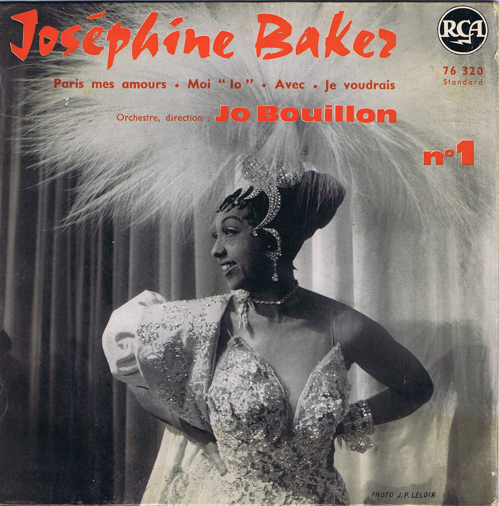 The world 39 s best photos of cover and vinile flickr hive mind for Josephine baker paris