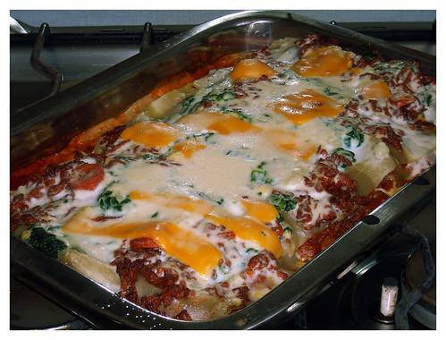 Lasaña à la Narkito - Saliendo del horno