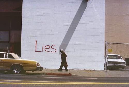 Richard Nagler, Lies, Oakland, California, May 1985