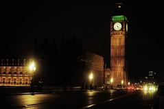 Big Ben (abhenna) Tags: city uk england london architecture night lowlight europe unitedkingdom bigben rainy flickraward